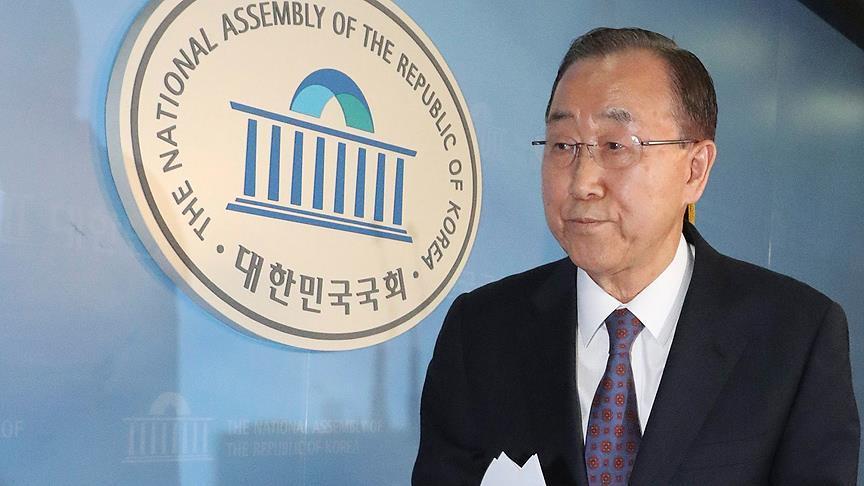 Ban Ki-mun devlet başkanlığına aday olmayacak
