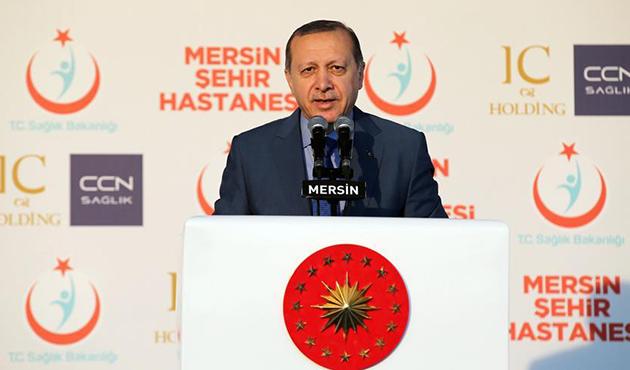 Erdoğan'dan 'referandum' mesajı