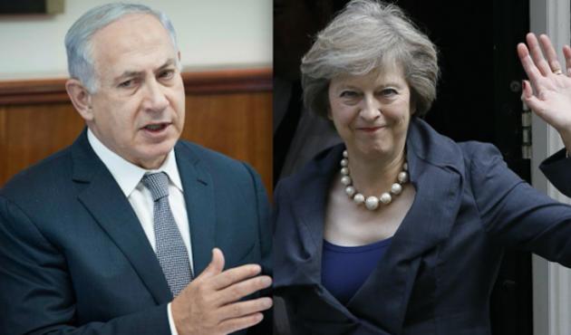 Netanyahu ticari anlaşmalar için Londra'da