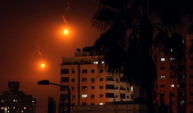 İşgal ordusundan Gazze'ye yoğun saldırılar