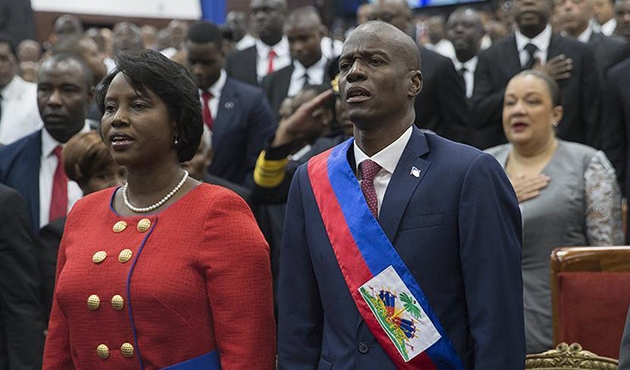 Haiti'de Jovenel Moise devlet başkanlığı görevine başladı
