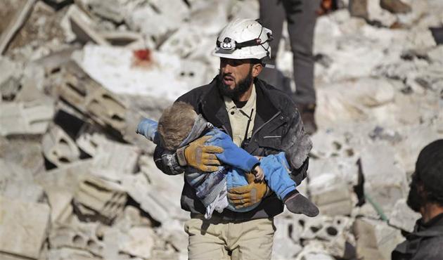 Suriye'nin beyaz miğferleri