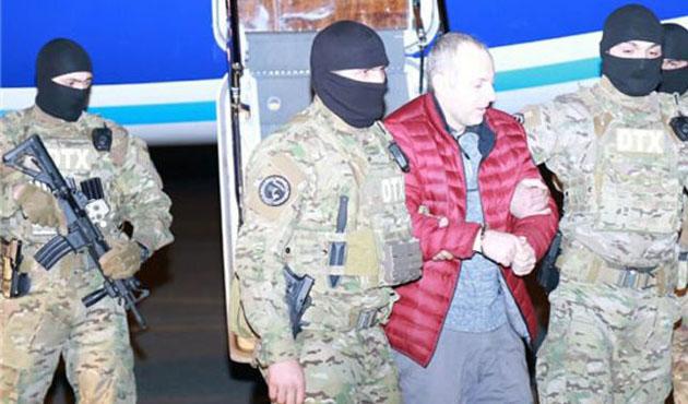 Vatan haini Lapşin Azerbaycan'a iade edildi