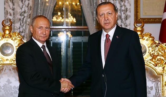Putin'den Erdoğan'a El Bab şehitleri için taziye telefonu