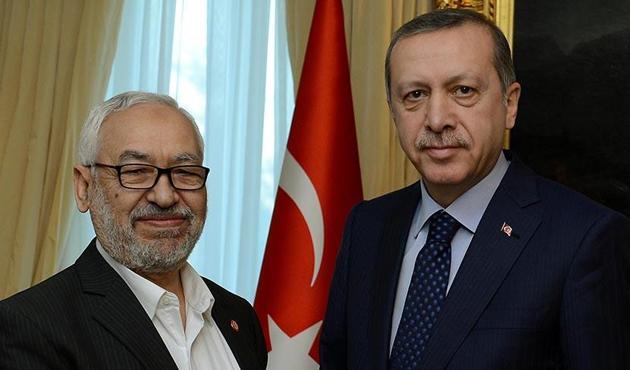 Raşid Gannuşi, Erdoğan'la görüştü