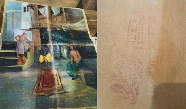 'Picasso tablosu' satmaya çalışırken yakalandılar