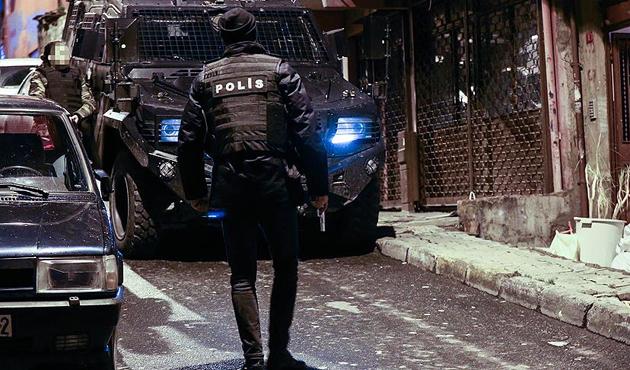 İstanbul'da 104 adrese PKK operasyonu