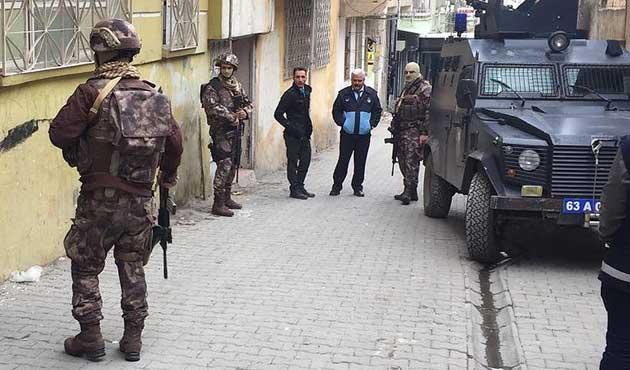 Şanlıurfa'daki terör operasyonunda 28 gözaltı