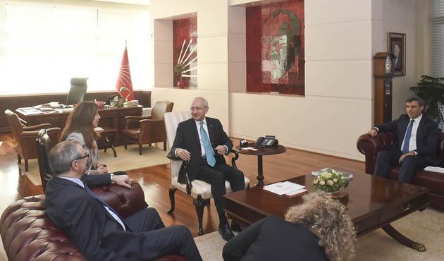 Kılıçdaroğlu'ndan, İsrail Büyükelçisine ziyaret
