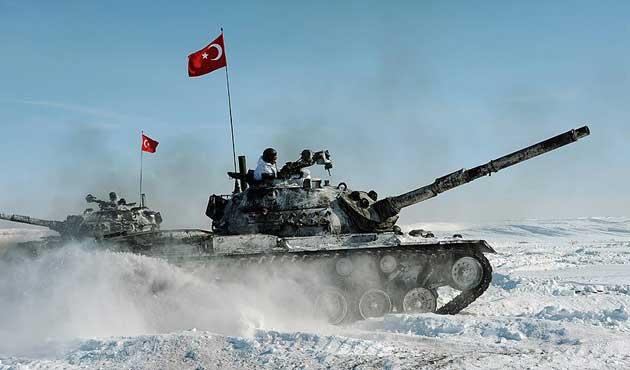 TSK'dan bin 378 personel ile 'Kış Tatbikatı' | FOTO