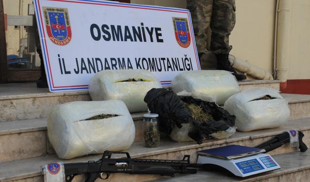 Osmaniye merkezli uyuşturucu operasyonu