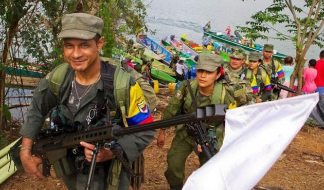 FARC üyeleri silah bırakma alanlarına ulaştı