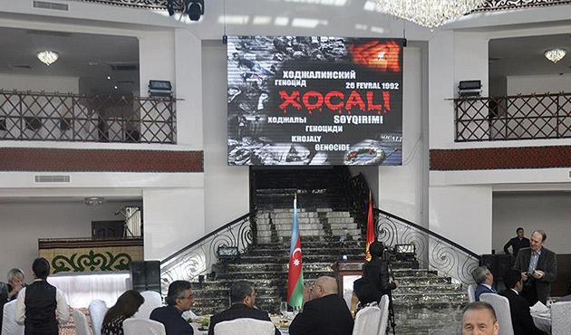 Hocalı katliamı kurbanları Kırgızistan'da anıldı