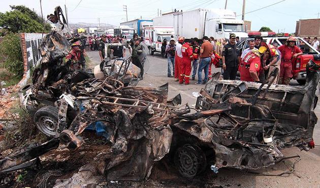 Madagaskar'da trafik kazası: 30 ölü