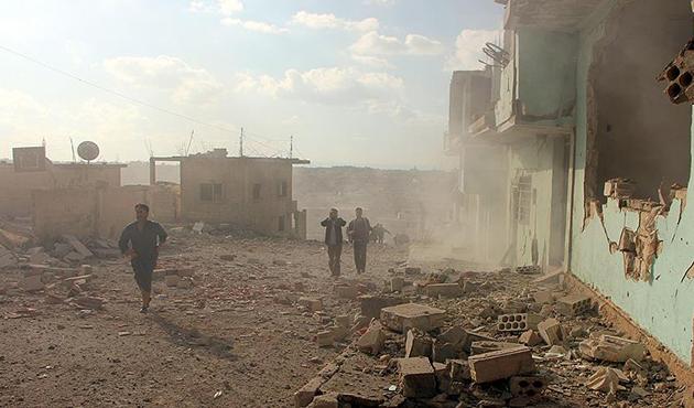 Suriye'de rejimin istihbarat merkezlerine saldırı