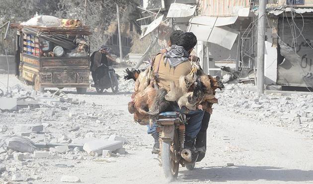 DEAŞ'tan kurtulan Bab'a dönüşler başladı | FOTO