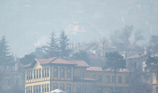 Bursa'da hava kirliliğinde 3 kat artış