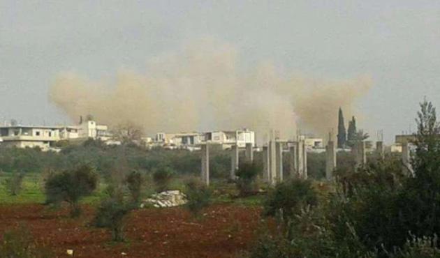 Esed rejiminden Hama'ya hava saldırısı