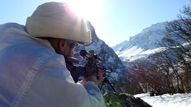 3 bin metre rakımda PKK'ya büyük operasyon | FOTO