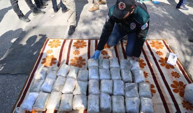 Kocaeli'de 100 kilo eroin ele geçirildi