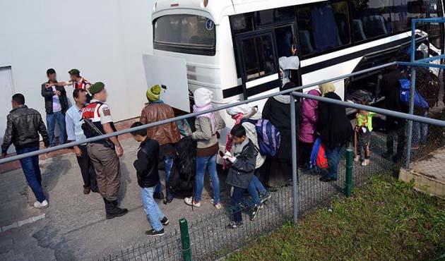 Kırklareli'de 15 sığınmacı yakalandı