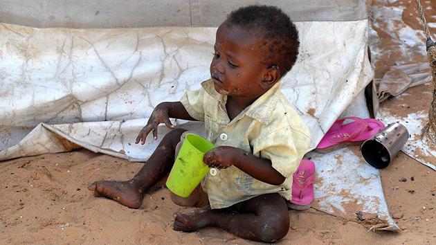 Doğu Afrika'da milyonlarca kişi açlığın pençesinde