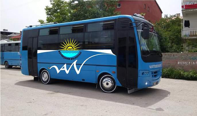 Van'da öğrencilere ücretsiz ulaşım hizmeti