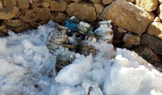 Hakkari'de patlayıcı yapımında kullanılan 10 tüp bulundu