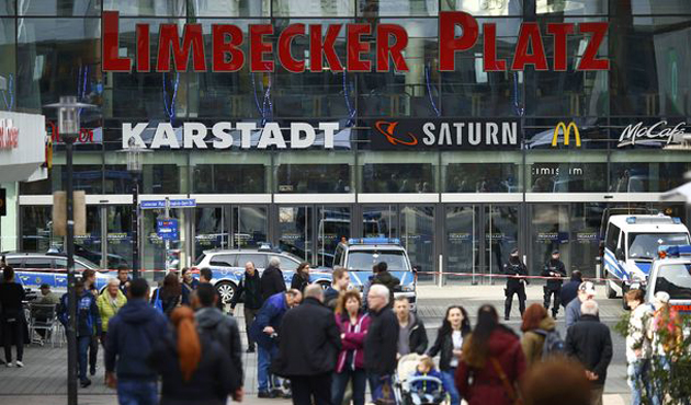 Almanya'da AVM'de terör alarmı