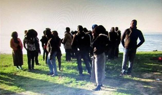 Ege Denizi'nde 32 göçmen yakalandı