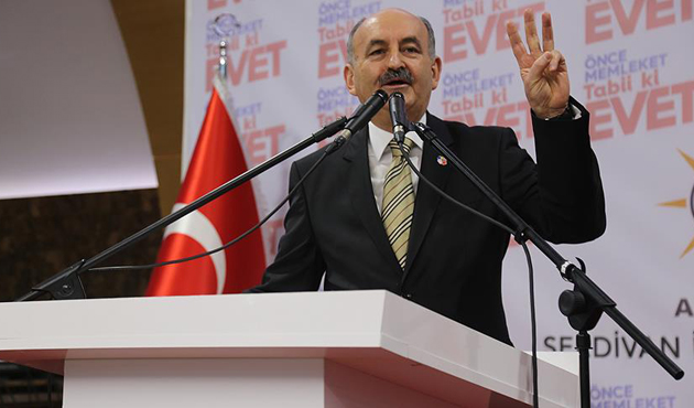 Çalışma Bakanı Müezzinoğlu STK'larla buluştu