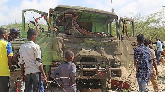 Somali'de askeri eğitim merkezinin yakınında bombalı saldırı