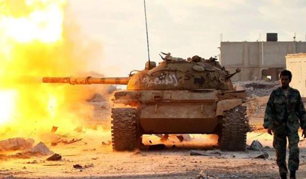 Libya Petrol Hilali bölgesine saldırı