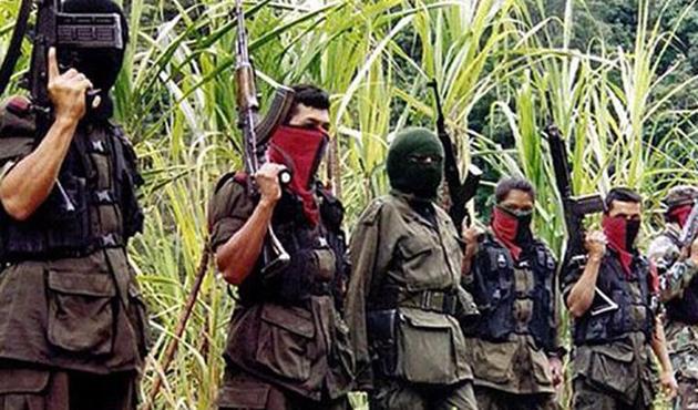FARC'tan boşalan bölgelere silahlı çeteler yerleşti