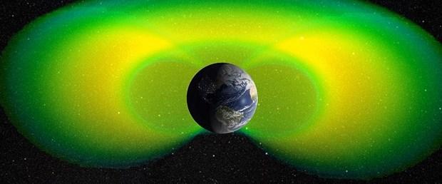 Dünya'yı çevreleyen iç radyasyon kuşağı düşünülenden zayıf