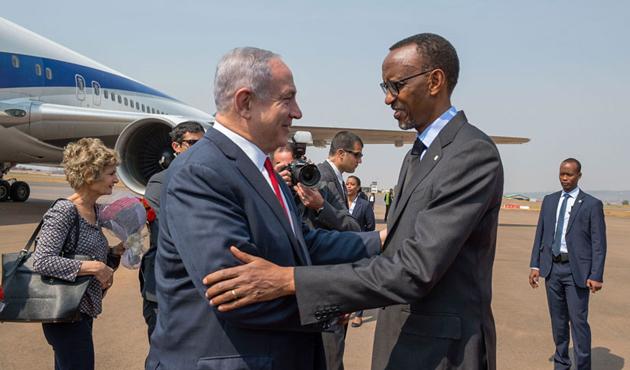 Ruanda'nın soykırım kahramanı İsrail'in yeni müttefiki