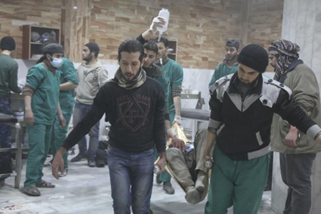Şam ve İdlib kırsalına hava destekli saldırı: 8 ölü | FOTO