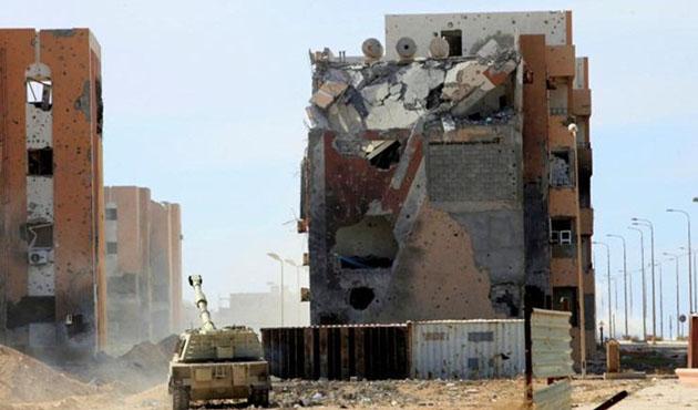 Sirte için yeni askeri güç