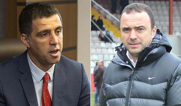 Galatasaray'da Hakan Şükür ve Arif Erdem'e ihraç