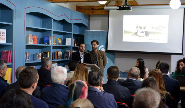 Bosna Hersek'te Necip Fazıl Kısakürek konferansı