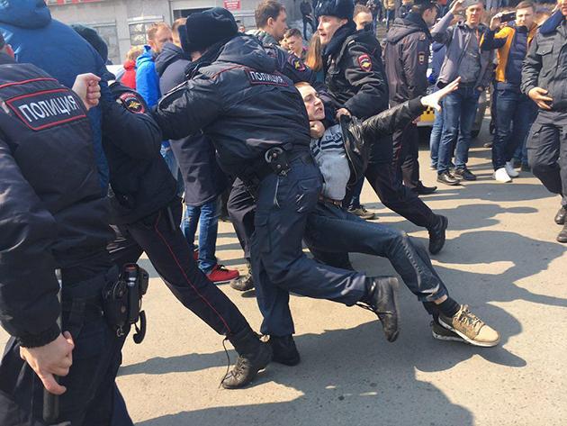 Rusya'da kitlesel gösterilerin arkası gelebilir | ANALİZ