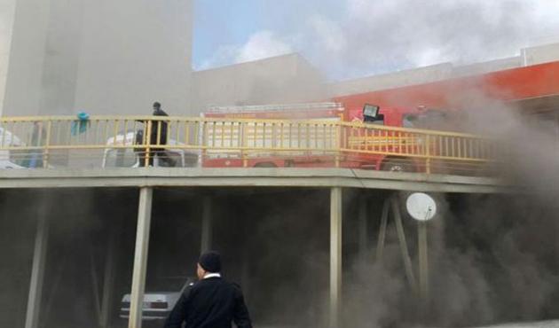 Dicle Üniversitesi Hastanesi'nde yangın