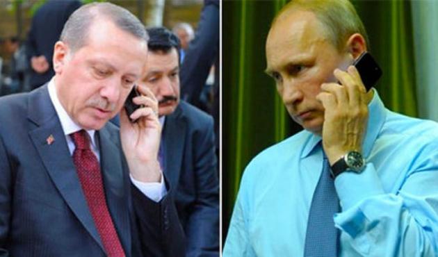 Erdoğan'dan Putin'e başsağlığı telefonu