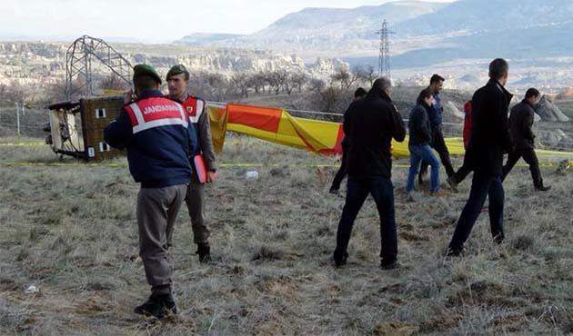 Kapadokya kazasında ölen kişi Konsolos yardımcısı çıktı