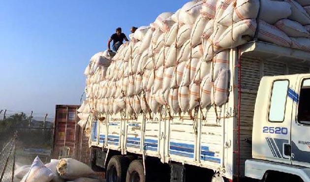 Saman çuvallarının içinde 770 kilo uyuşturucu