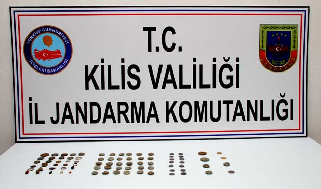 Kilis'te tarihi eser kaçakçılığı operasyonu