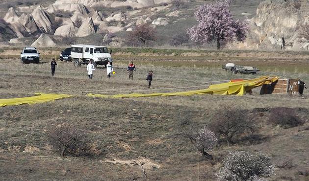 Kapadokya'daki balon kazasında pilot serbest