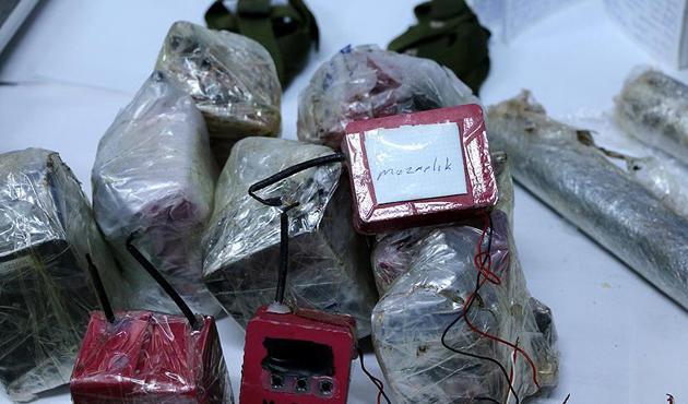 Bingöl'deki operasyonda çok sayıda mühimmat bulundu