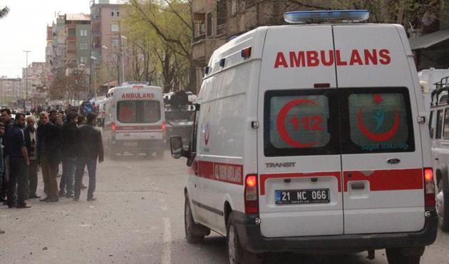 Diyarbakır'daki patlama terör saldırısı çıktı