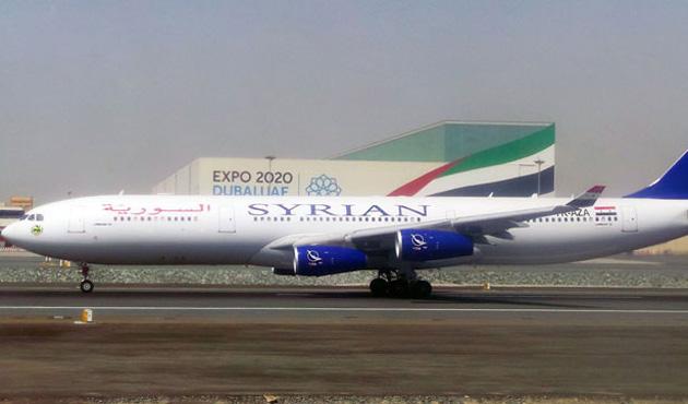 Suriye Havayolları uzun menzilli Airbus A340 uçağı aldı